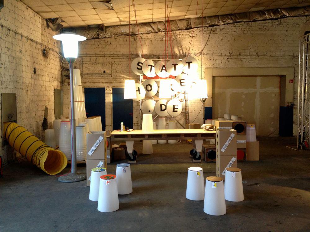 leuchten prototyp für designers fair