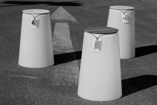 der statthocker – ein recyclingprodukt
